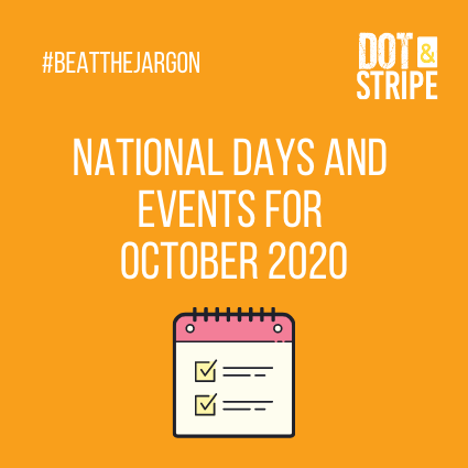 National Days and Events for October 2020