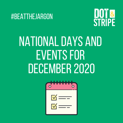 National Days and Events for December 2020