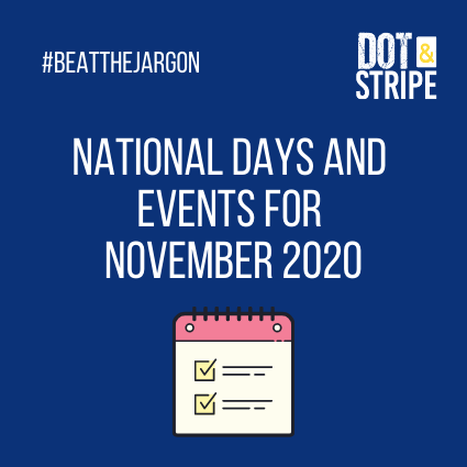 National Days and Events for November 2020